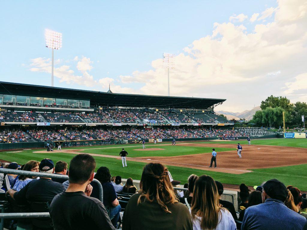 野球場の風景